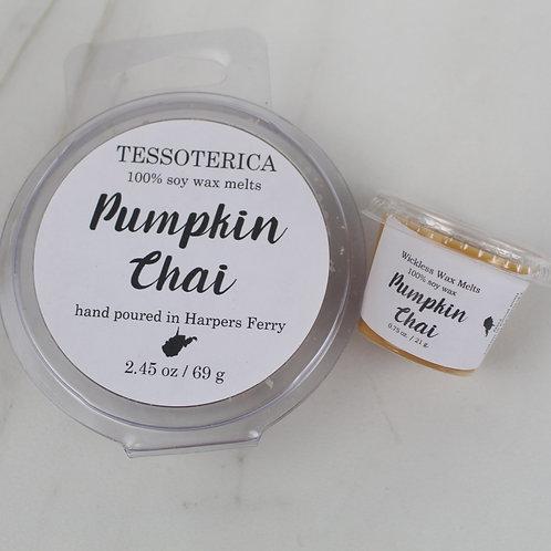 Pumpkin Chai soy melts