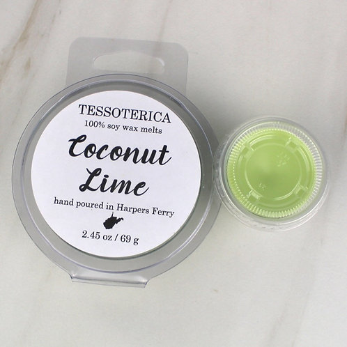 Coconut Lime wax melts