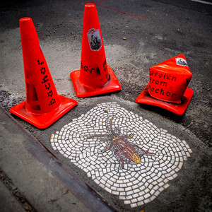 Jim Bachor: Vermin of New York, Pothole Project