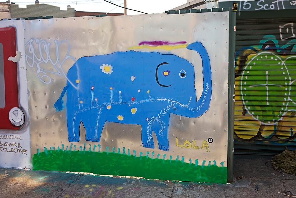 Lola's Wall, age 6