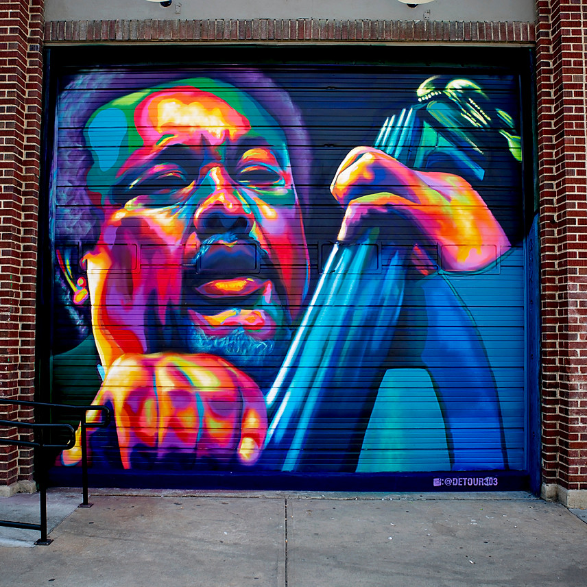 Charles Mingus on the Nocturne Jazz Club | Photo By John Domine