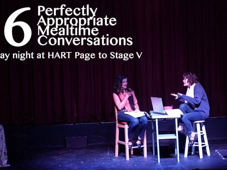 36 Conversations Gets a Reading at HART!