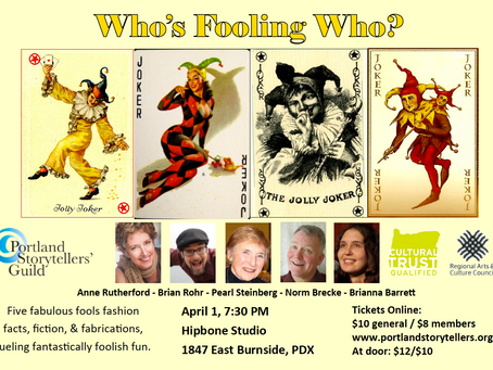 April 1st Show: Who's Fooling Who