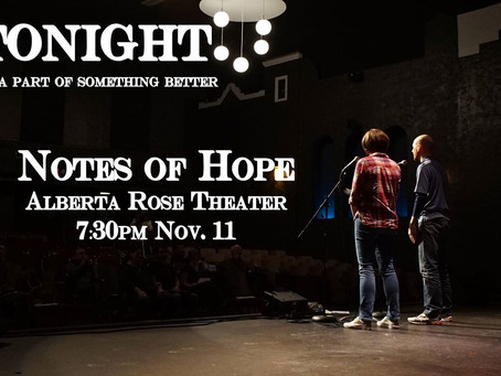 Notes of Hope 2016