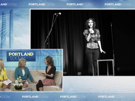 KGW8 Portland Today Guest Spot!