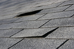 Roofing trouble - damage to shingles tha