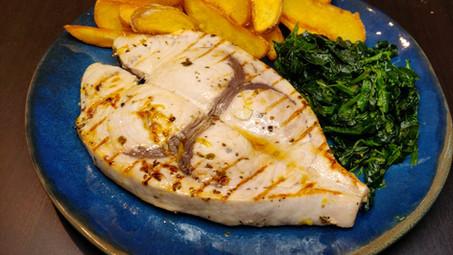 Izgara Kılıç Balığı