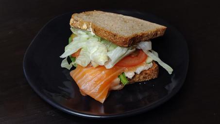 Somon Füme Sandviç