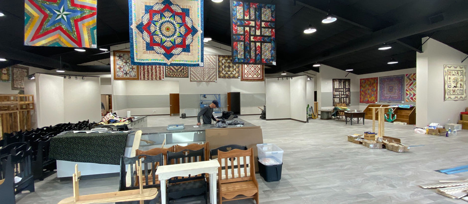 CHRONICLES OF BUILDING A 17,500 SQ FT QUILT SHOP