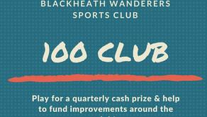100 Club Winners Announced!