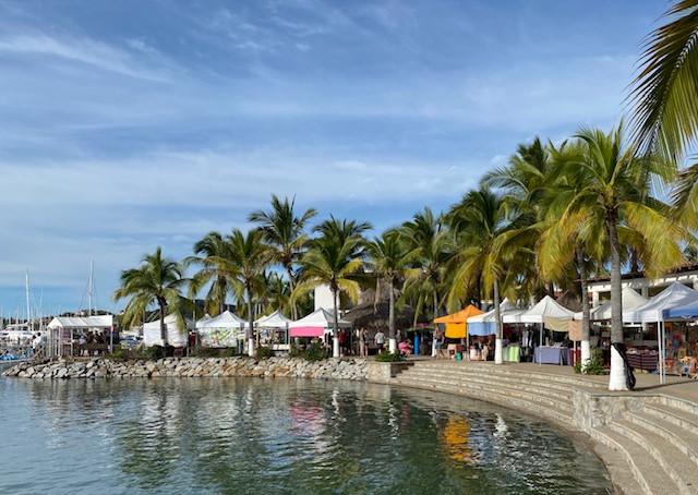 Sunday Market on the Boardwalk