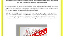 Soldier and Family Programs