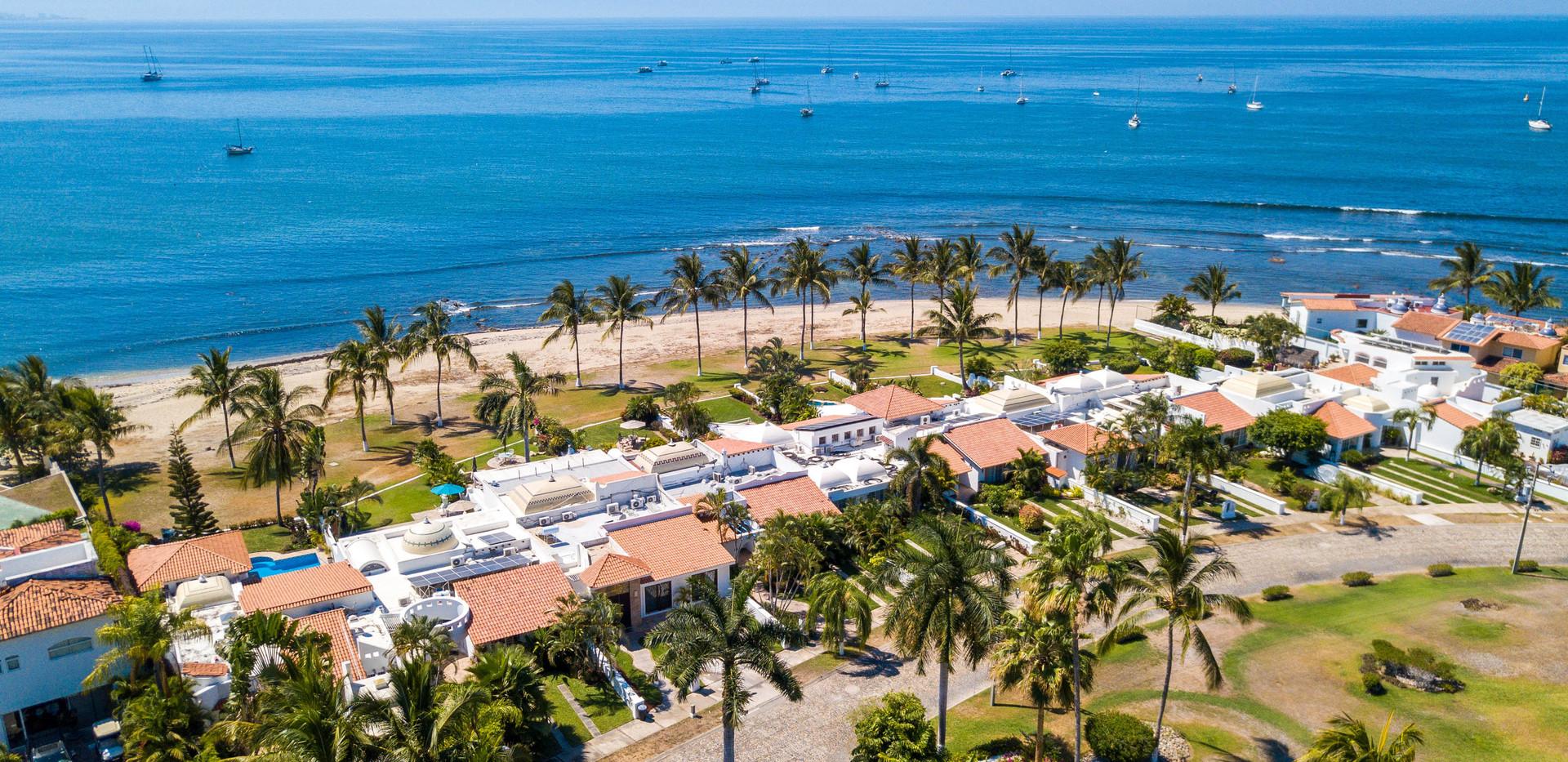 Bird's Eye View of Beachfront