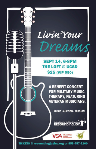 Join us at Livin' Your Dreams (Click for more information)