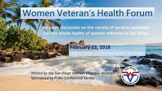 Women Veteran's Health Forum - February 23