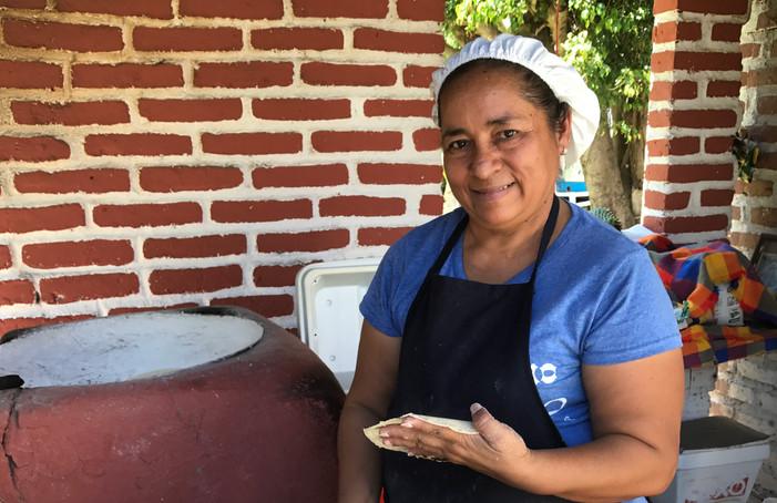 Handmade Tortillas - Yum!