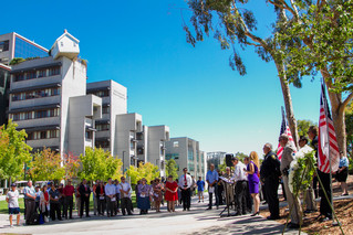 9/11 Ceremony at UC San Diego