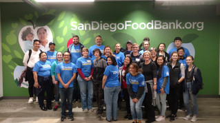 The VSA and Volunteer 50 at the San Diego Food Bank!