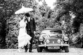 Anna Marie Photography | Wedding Photography | vintage wedding car