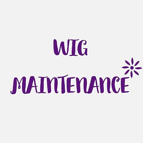 Wig Maintenance