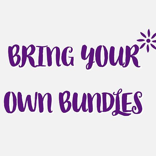 Bring your own Bundles