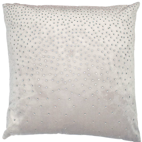 Zircon Silver Cushion 45x45cm