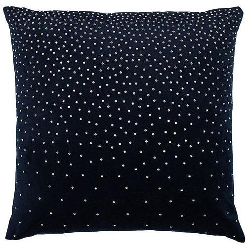 Zircon Navy Velvet Cushion 45x45cm