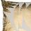 Thumbnail: Fern gold cushion 45x45cm