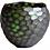 Thumbnail: Green organic vase