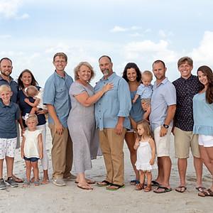 The Turner Family: Anna Maria Island 2018