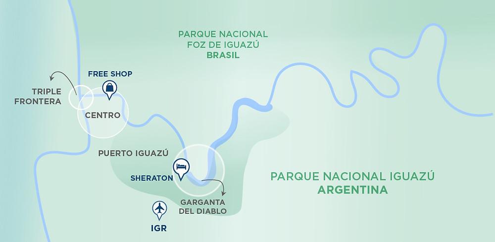 Cataratas_Iguazú_Misiones_Argentina_NearBA_Turista_Buenos_Aires_Nature_Falls_Mapa