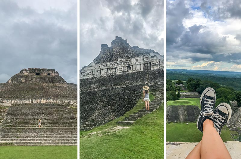 Turista_en_Buenos_AIres_Belize_Belize_FarFromBA_Xunantunich