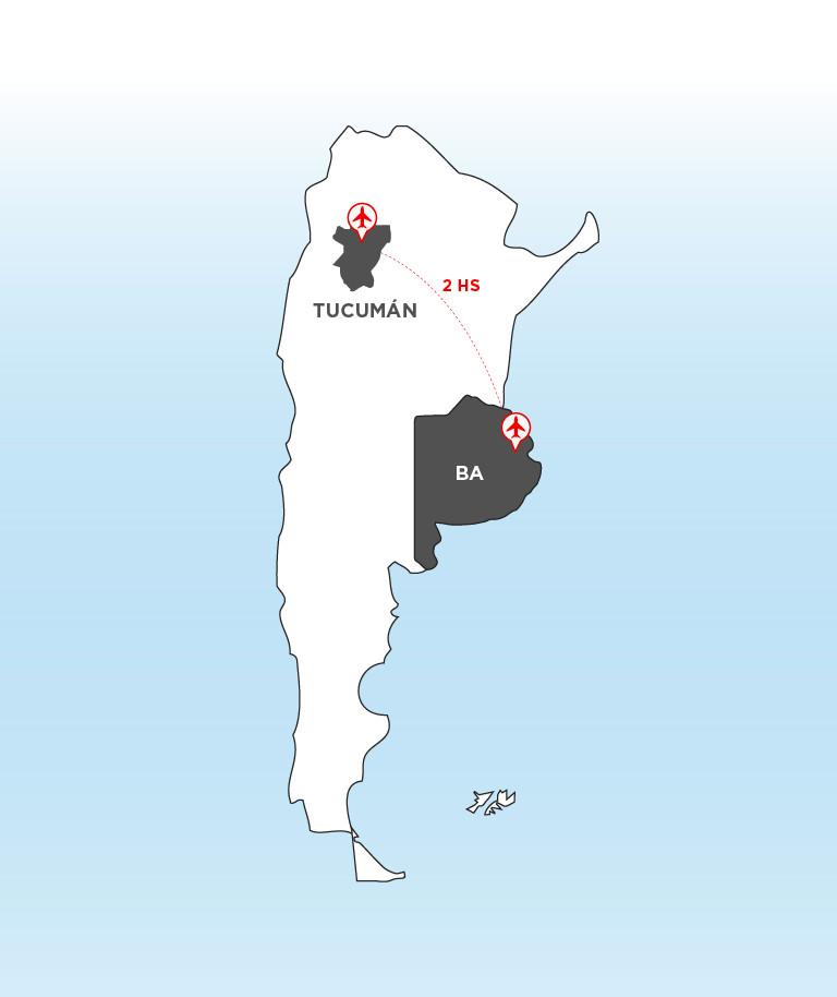Tucuman_Argentina_NearBA_Turista_Buenos_Aires_mapa