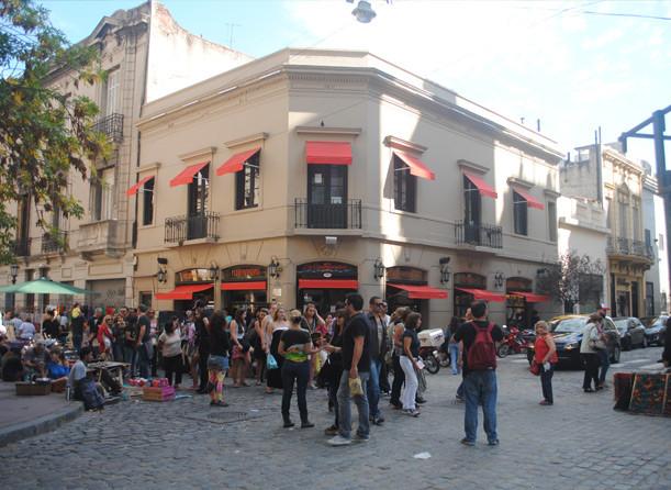 San-Telmo-Feria-Turista-en Buenos-Aires