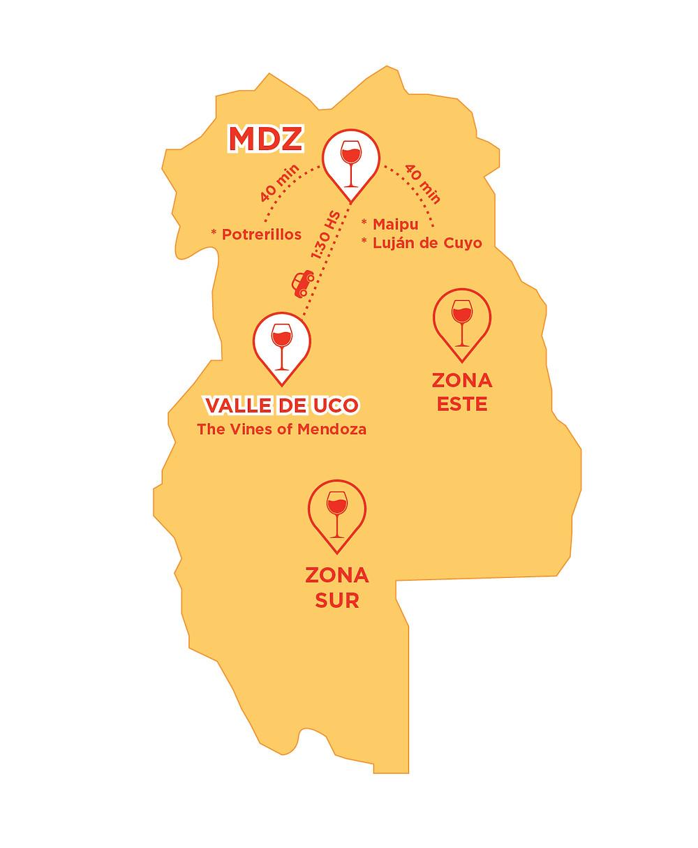 NearBa_MEndoza_RutaDelvino_Wine_TheVinesOfMendoza_mapa