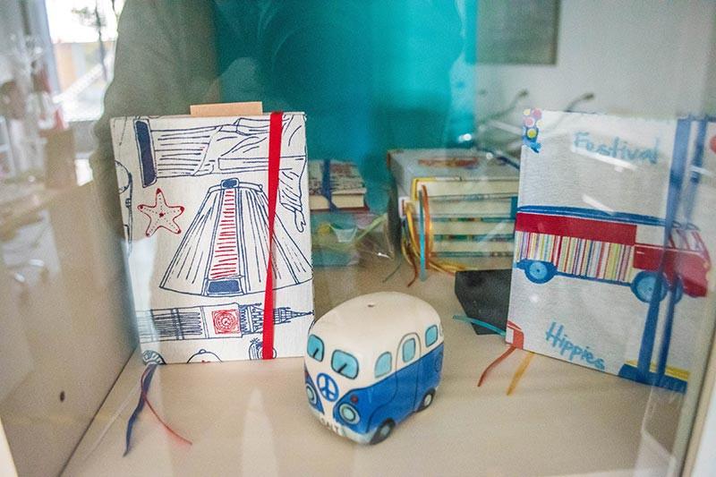 caravan_hostel_boutique_turista_en_buenos_aires_book_Journal_souvenir