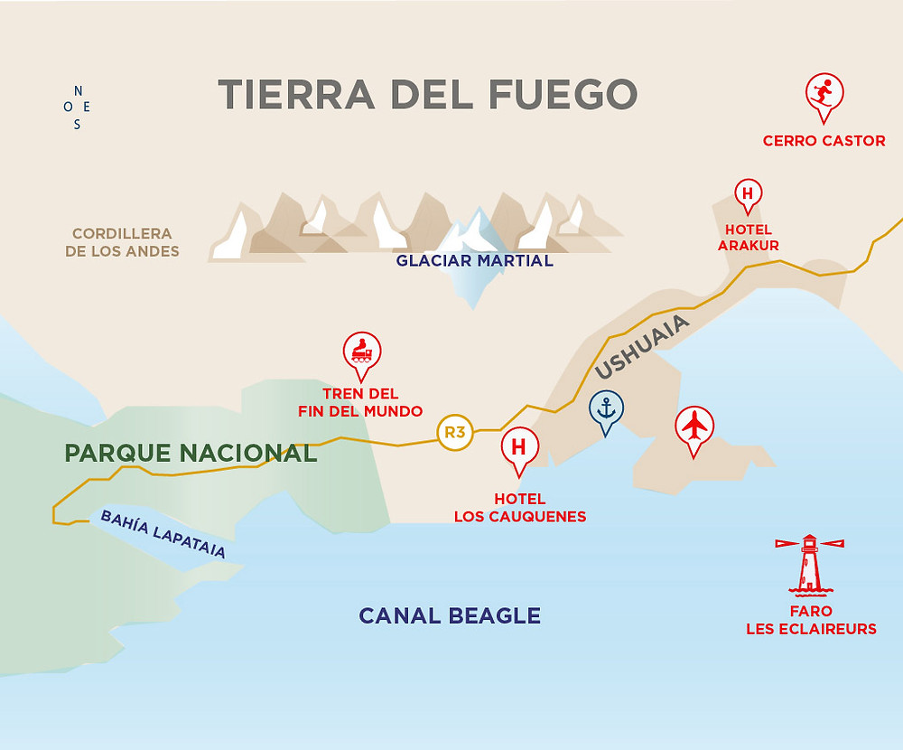 Ushuaia_FinDelMundo_Faro_Turista_en_Buenos_Aires_NearBA_Mapa