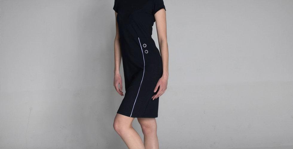 short sleeve dress Maja