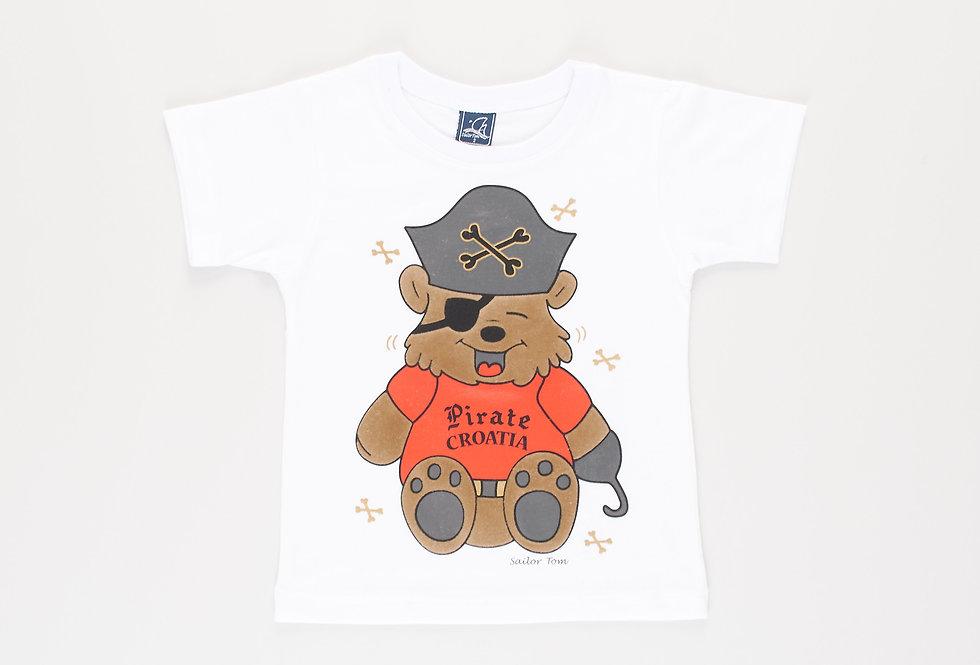 Cotton t-shirt pirate captain Mad Bear