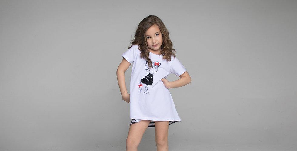 Girls dress Pipa