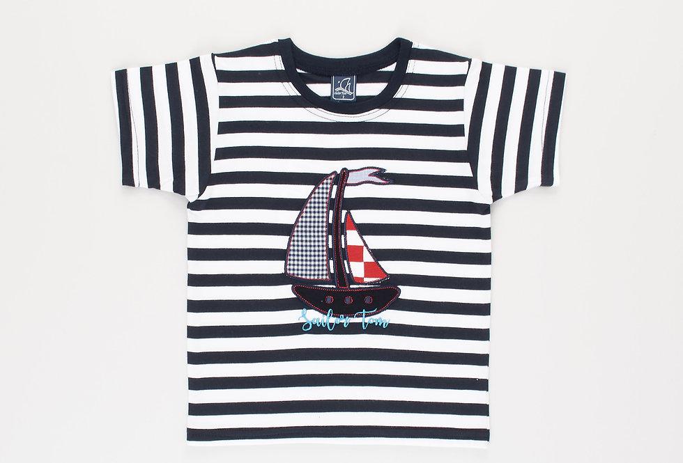 Cotton t-shirt Boat Tom