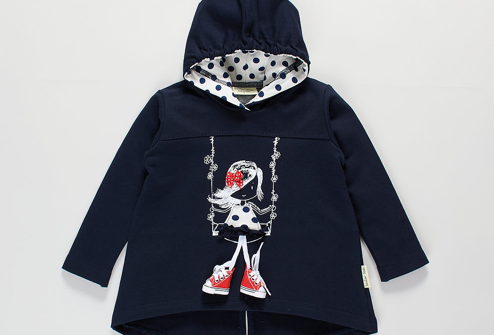 Girls hoodie Iva - W