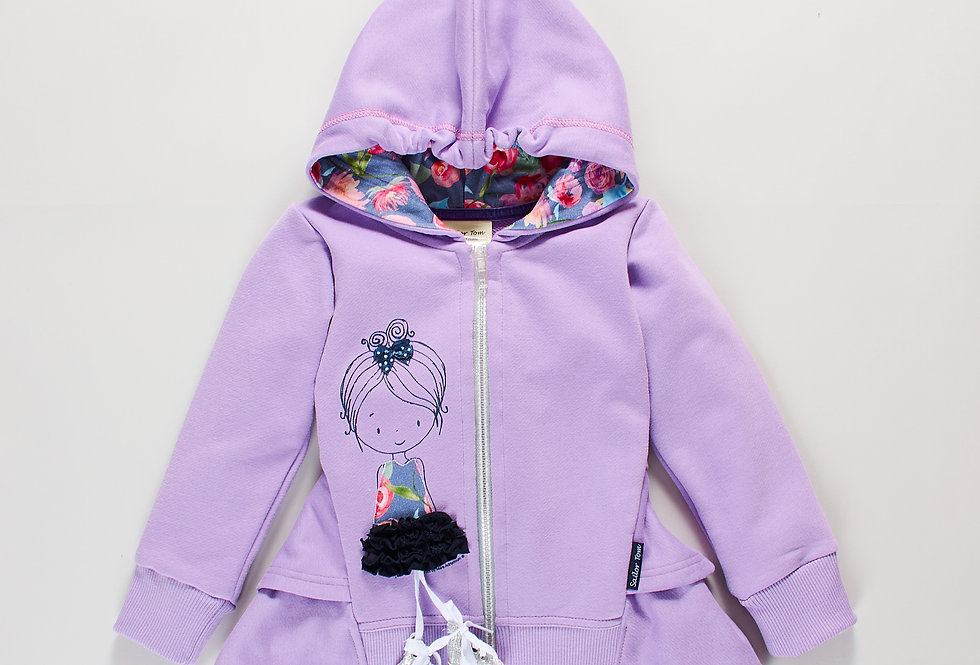 Girls hoodie Franca