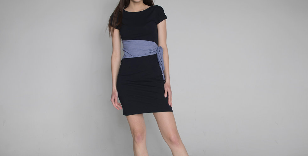 Short sleeve dress Lidia