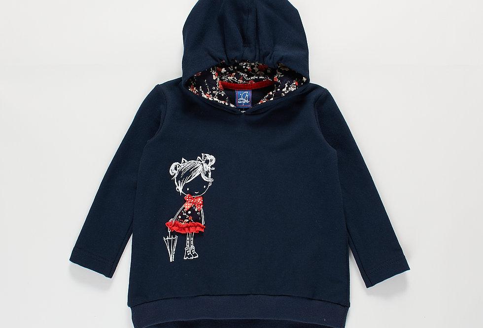 Girls hoodie Zaga