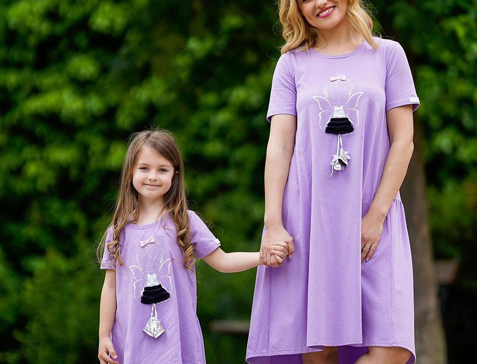 Haljina Vila Set Mama i Kći