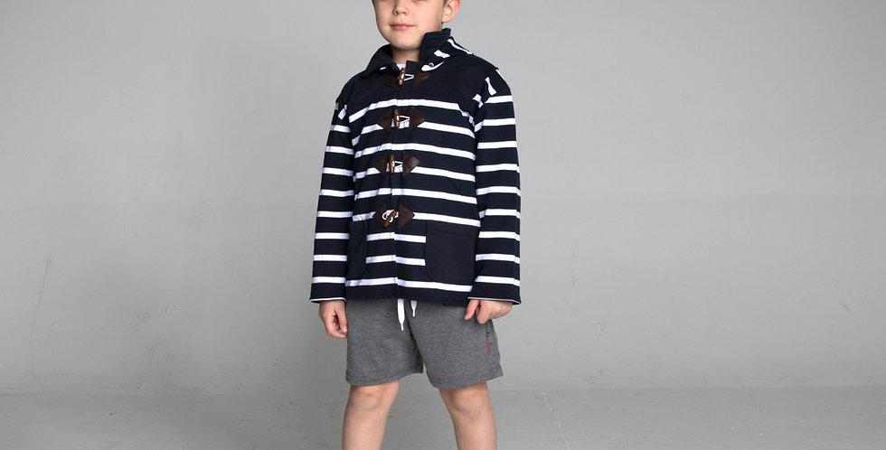 Cotton coat Marine