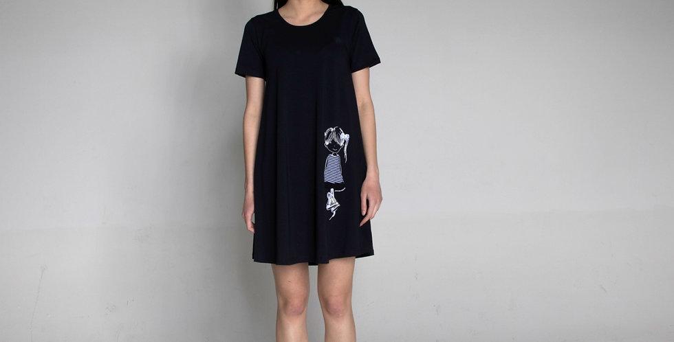 Short sleeve dress Lolita