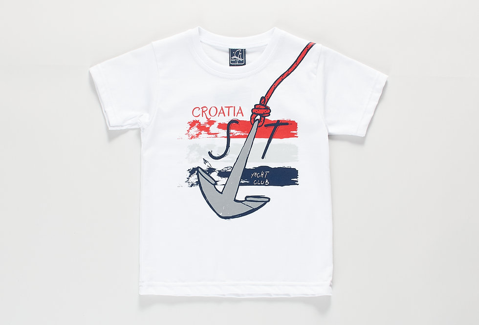 Cotton t-shirt Croatia