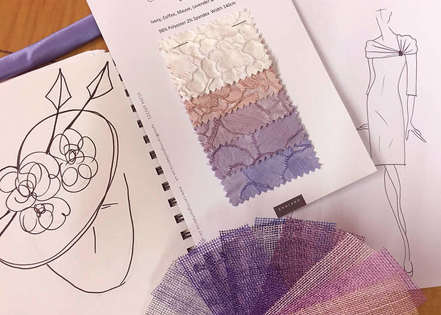 fabric swatches colours textiles dress designs
